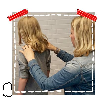 Direct masseren na de workshop kindermassage