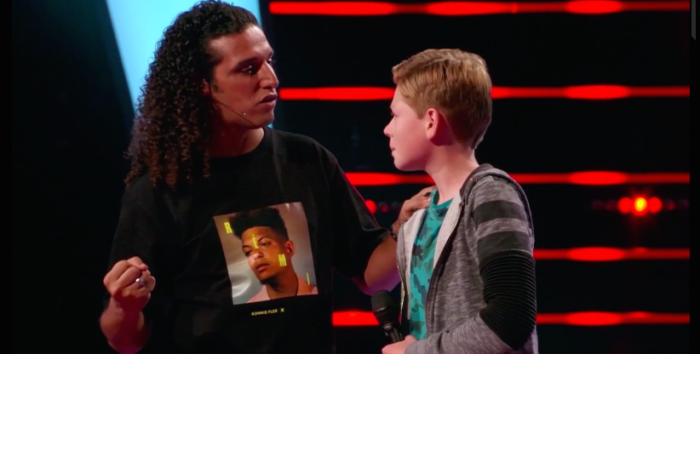 Ali B gebruikt groeitaal in the voice kids